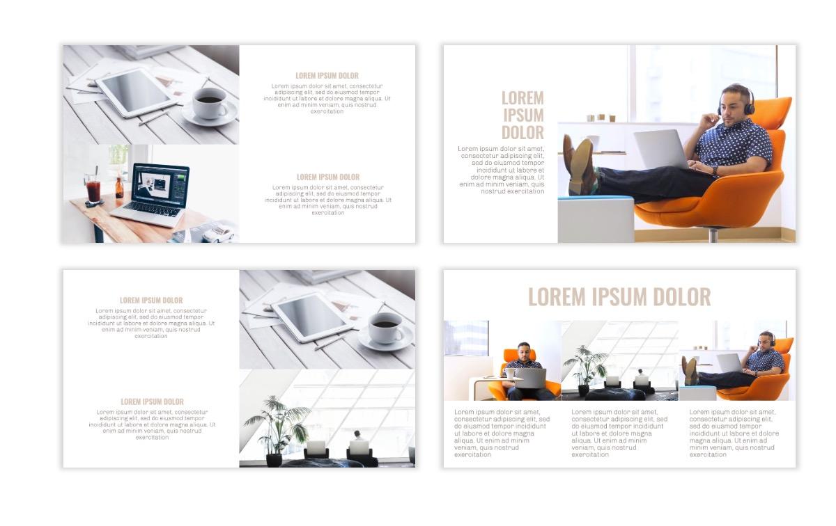 OSLO - Minimal - Neutral - Business - Professional - Aesthetic - Clean - Minimal Slide7
