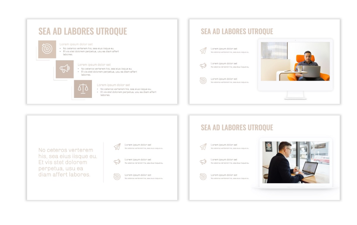 OSLO - Minimal - Neutral - Business - Professional - Aesthetic - Clean - Minimal Slide9