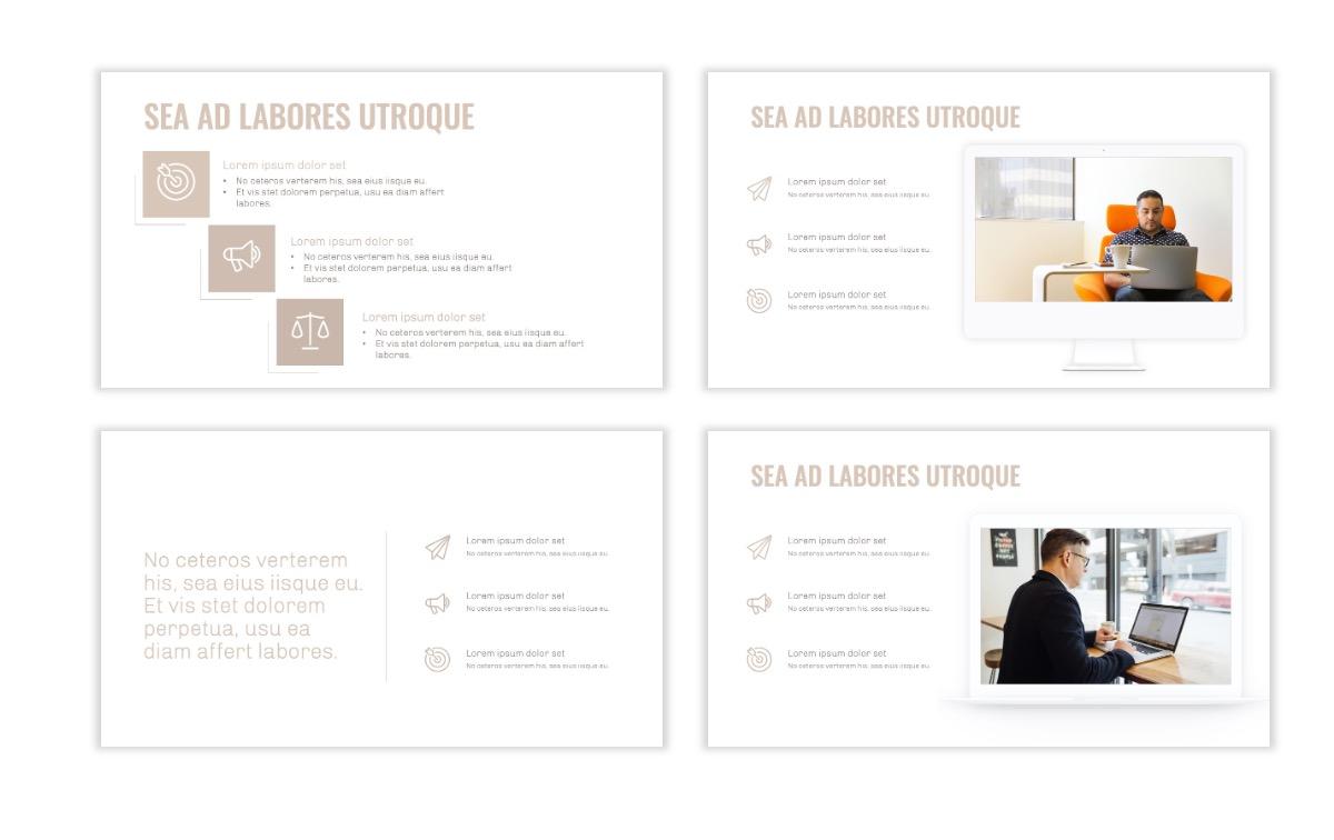 OSLO - Minimal - Neutral - Business - Professional - Aesthetic - Clean - Minimal Slide9