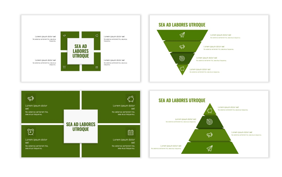 OSLO - Minimal - Olive Green - Business - Professional - Aesthetic - Clean - Minimal Slide16