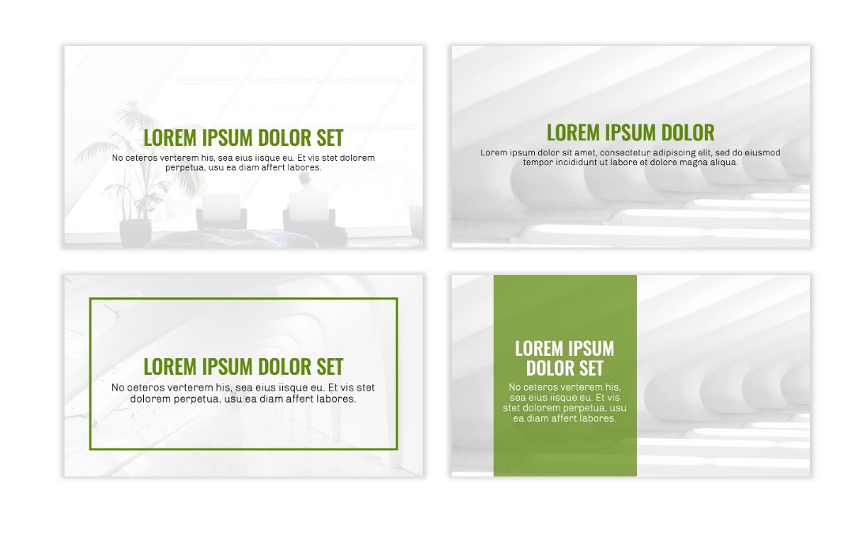 OSLO - Minimal - Olive Green - Business - Professional - Aesthetic - Clean - Minimal Slide2
