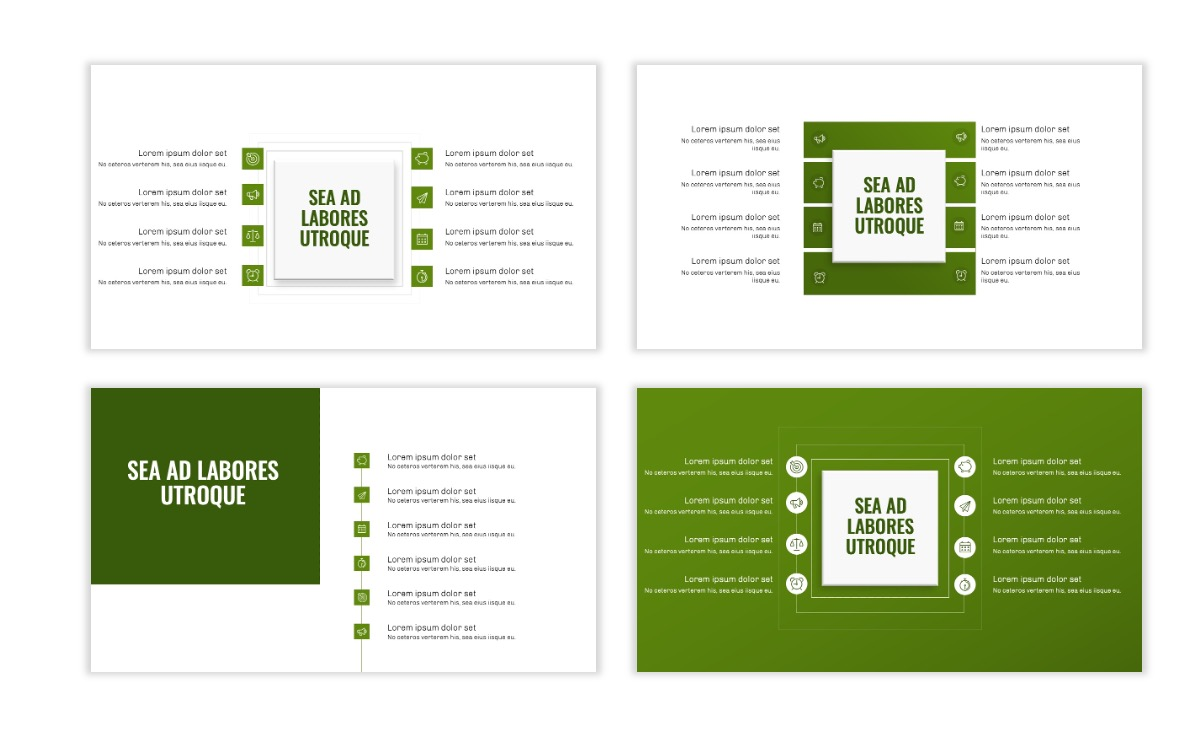 OSLO - Minimal - Olive Green - Business - Professional - Aesthetic - Clean - Minimal Slide20