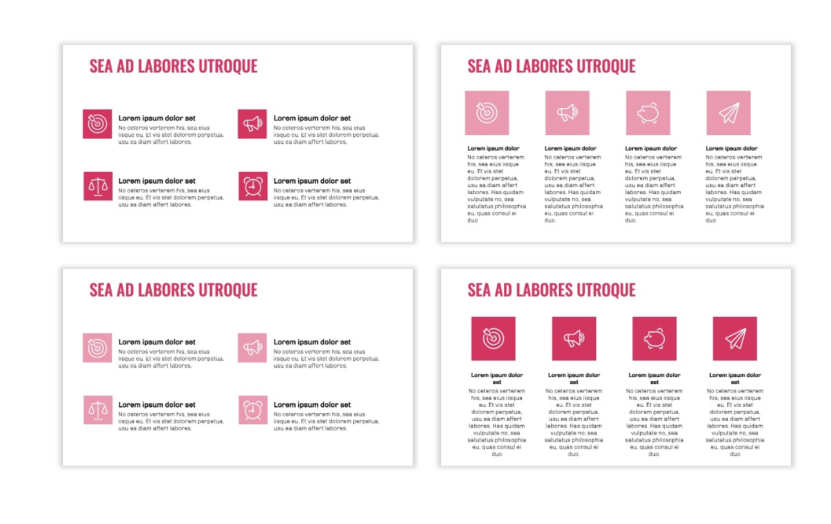 OSLO - Minimal - Pink - Business - Professional - Aesthetic - Clean - Minimal Slide11