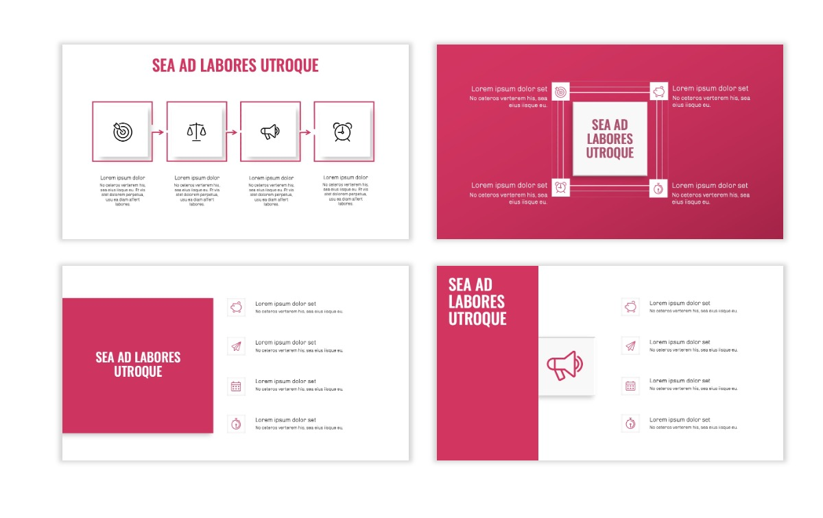 OSLO - Minimal - Pink - Business - Professional - Aesthetic - Clean - Minimal Slide15