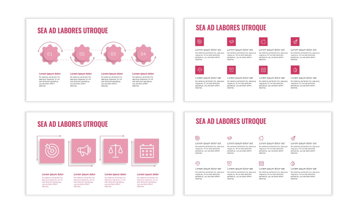 OSLO - Minimal - Pink - Business - Professional - Aesthetic - Clean - Minimal Slide17