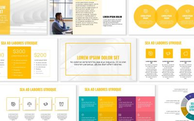 OSLO PROFESSIONAL YELLOW FREE POWERPOINT TEMPLATE