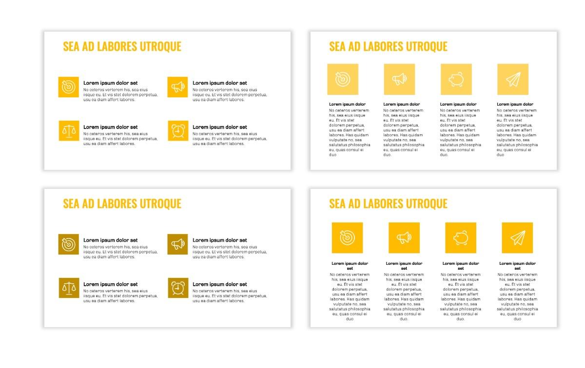 OSLO - Minimal - Yellow -Bright - Business - Professional - Aesthetic - Clean - Minimal Slide11