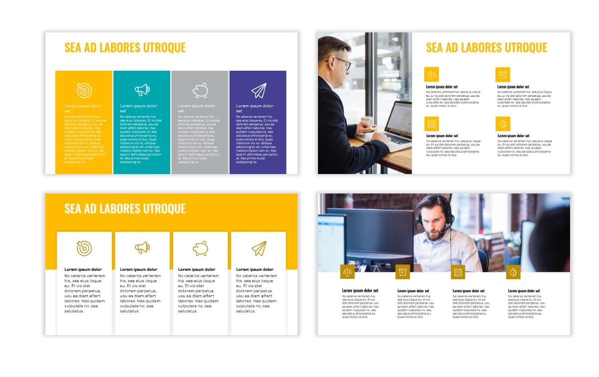 OSLO - Minimal - Yellow -Bright - Business - Professional - Aesthetic - Clean - Minimal Slide13