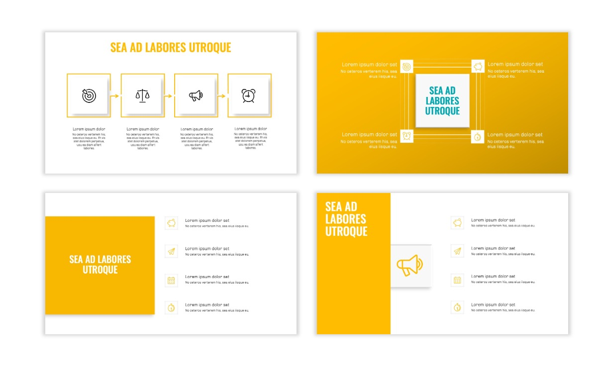 OSLO - Minimal - Yellow -Bright - Business - Professional - Aesthetic - Clean - Minimal Slide15