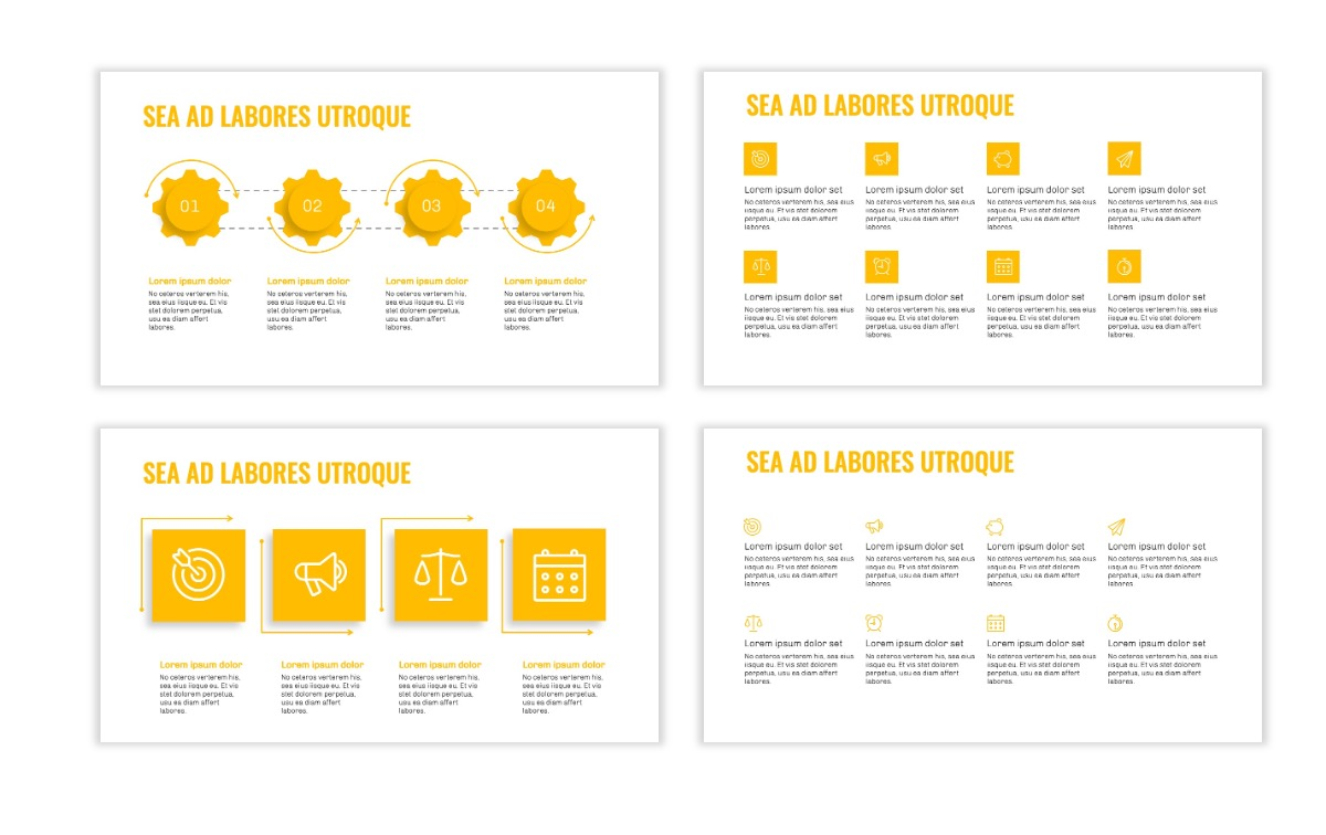OSLO - Minimal - Yellow -Bright - Business - Professional - Aesthetic - Clean - Minimal Slide17