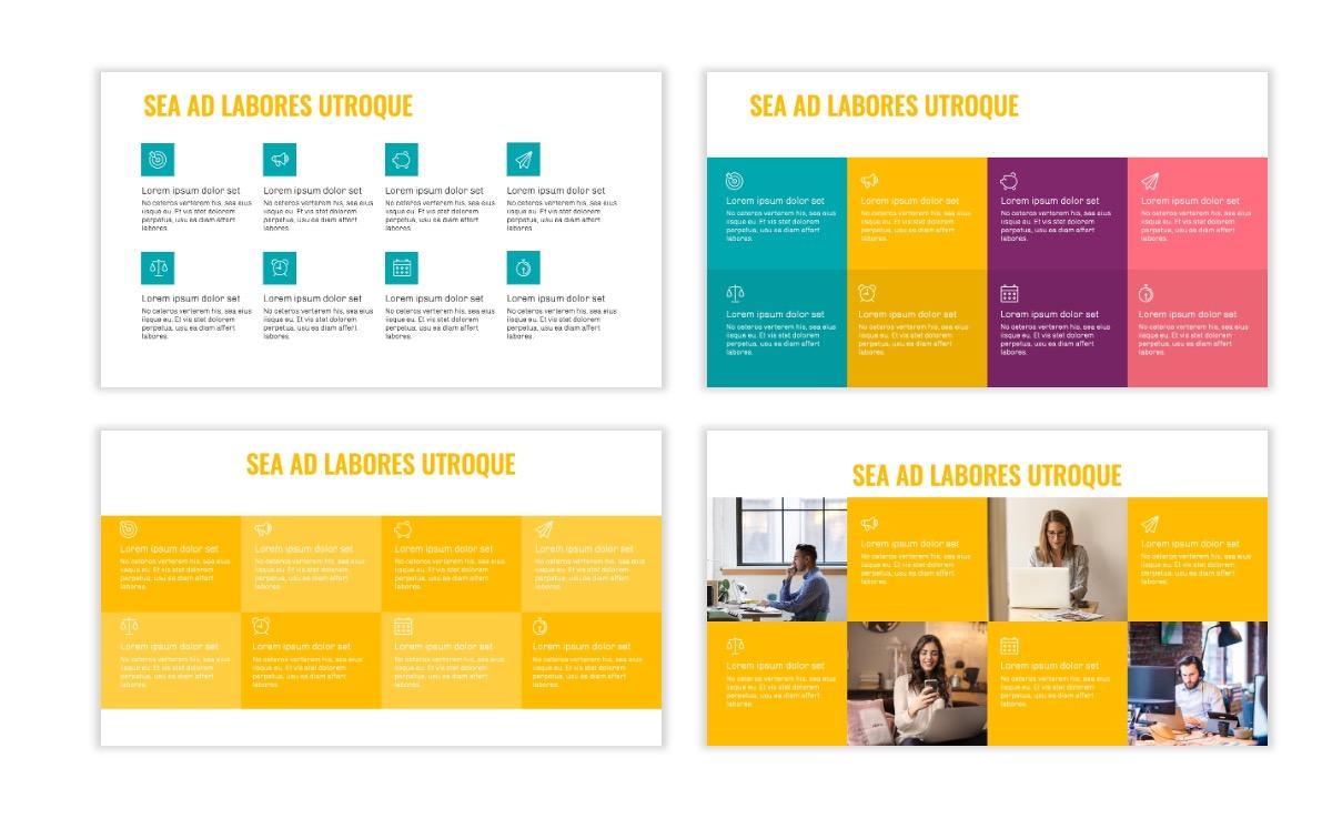 OSLO - Minimal - Yellow -Bright - Business - Professional - Aesthetic - Clean - Minimal Slide18