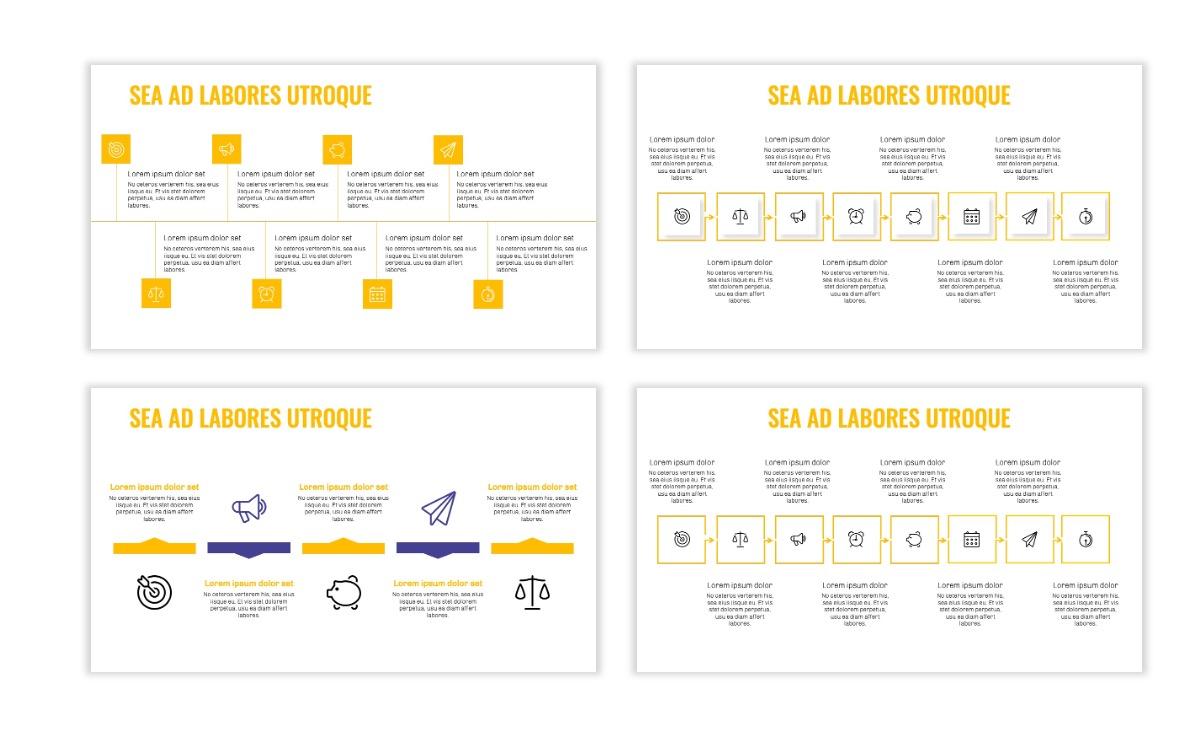 OSLO - Minimal - Yellow -Bright - Business - Professional - Aesthetic - Clean - Minimal Slide19