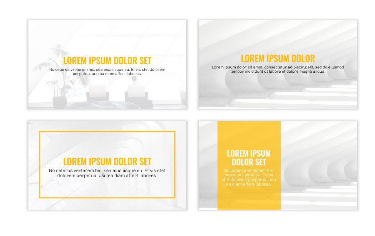 OSLO - Minimal - Yellow -Bright - Business - Professional - Aesthetic - Clean - Minimal Slide2