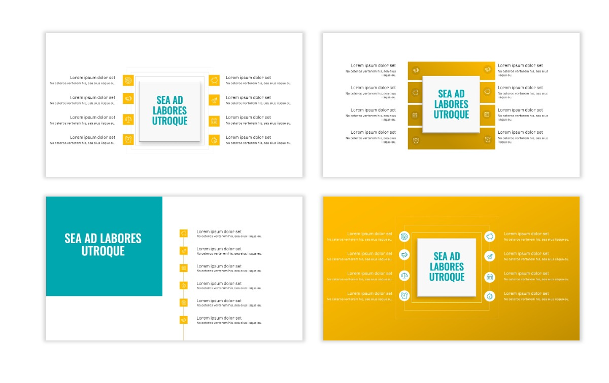 OSLO - Minimal - Yellow -Bright - Business - Professional - Aesthetic - Clean - Minimal Slide20