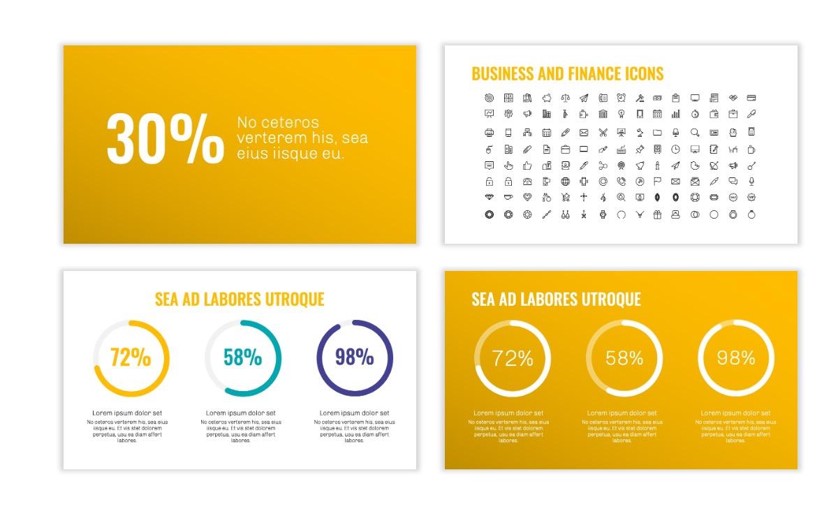 OSLO - Minimal - Yellow -Bright - Business - Professional - Aesthetic - Clean - Minimal Slide25