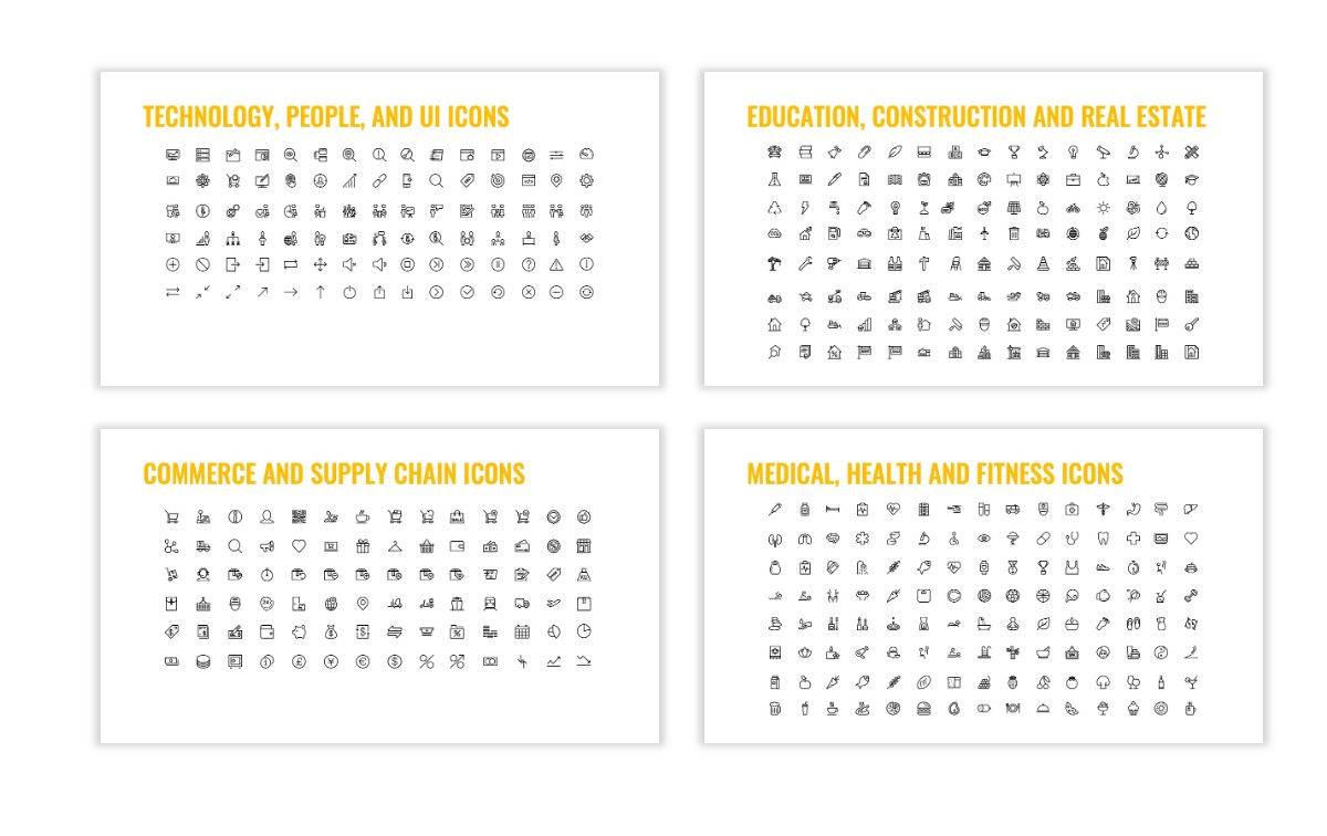 OSLO - Minimal - Yellow -Bright - Business - Professional - Aesthetic - Clean - Minimal Slide26