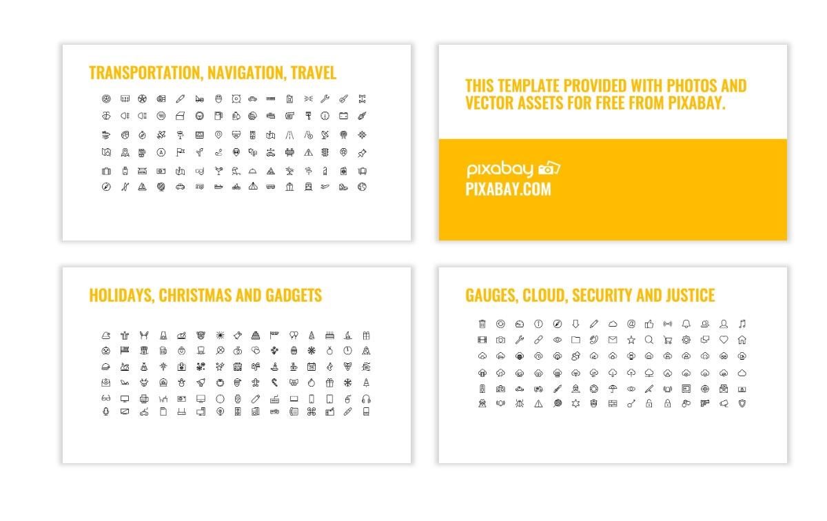 OSLO - Minimal - Yellow -Bright - Business - Professional - Aesthetic - Clean - Minimal Slide27
