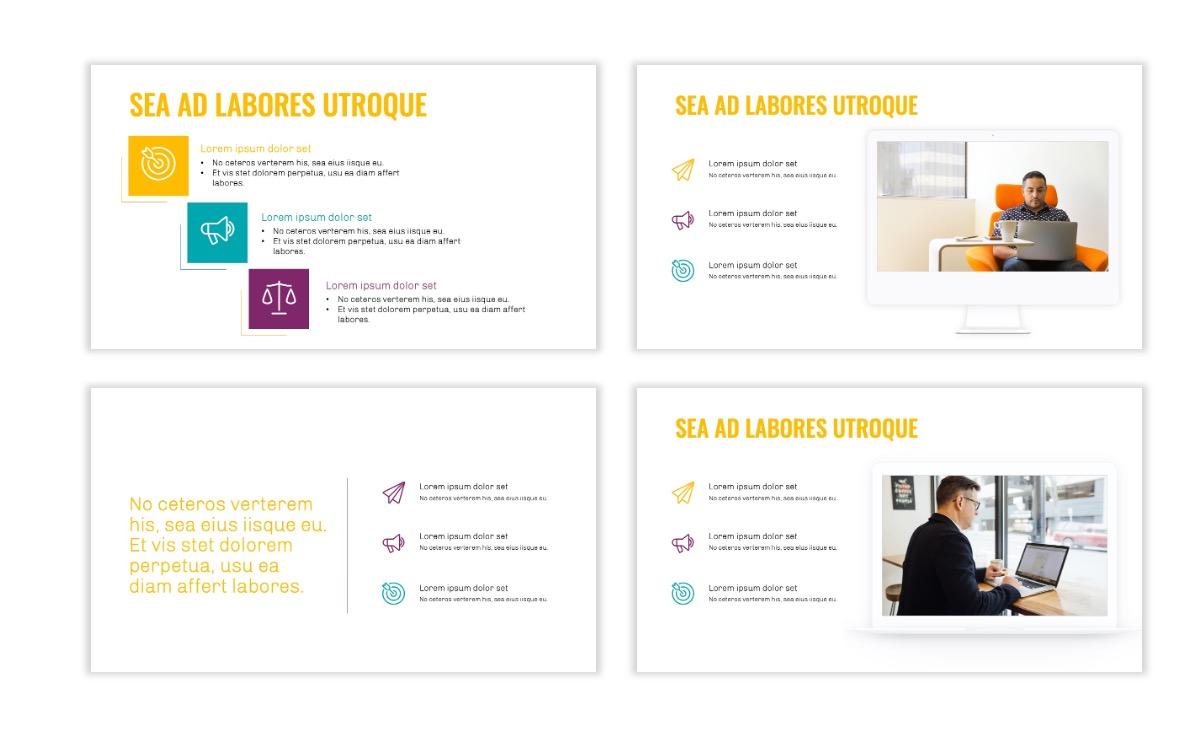 OSLO - Minimal - Yellow -Bright - Business - Professional - Aesthetic - Clean - Minimal Slide9