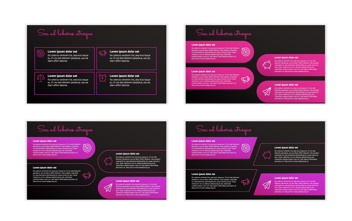 Pink and Black Sydney PPT Template17