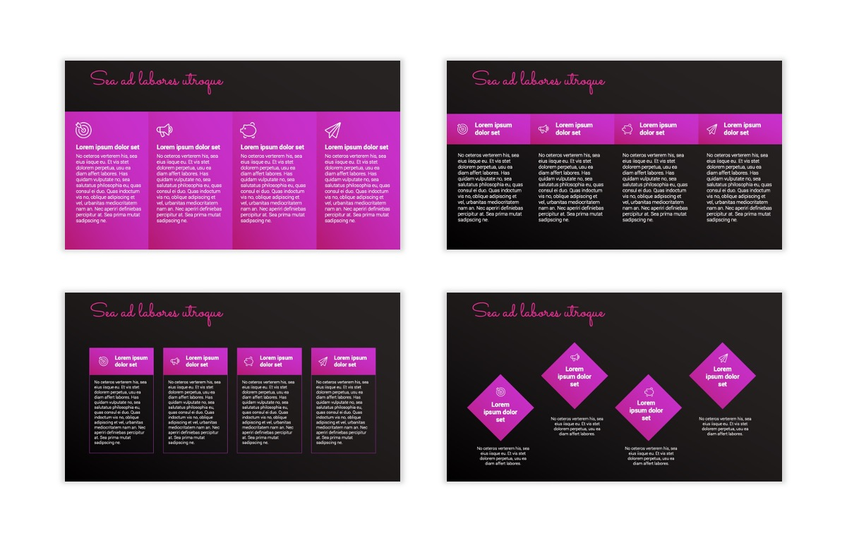 Pink and Black Sydney PPT Template18