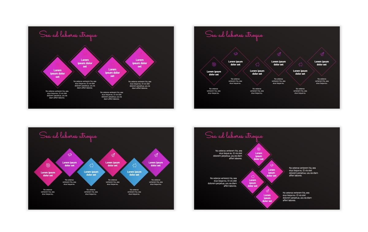 Pink and Black Sydney PPT Template19