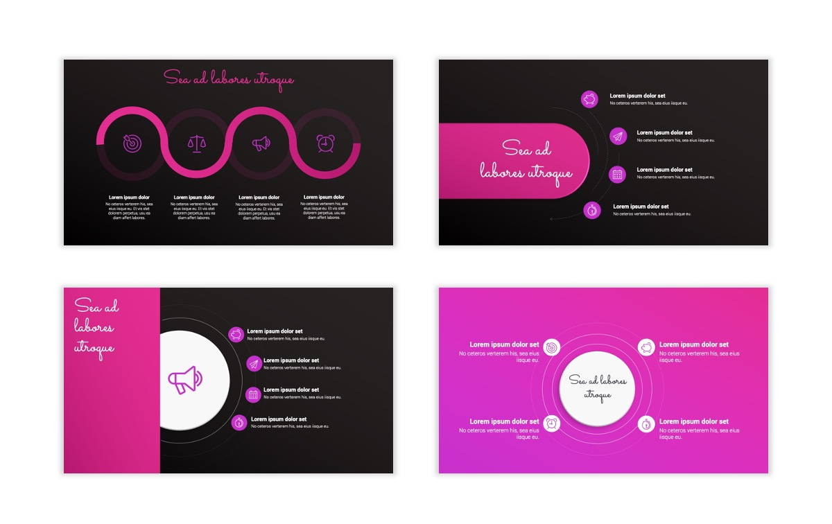 Pink and Black Sydney PPT Template22