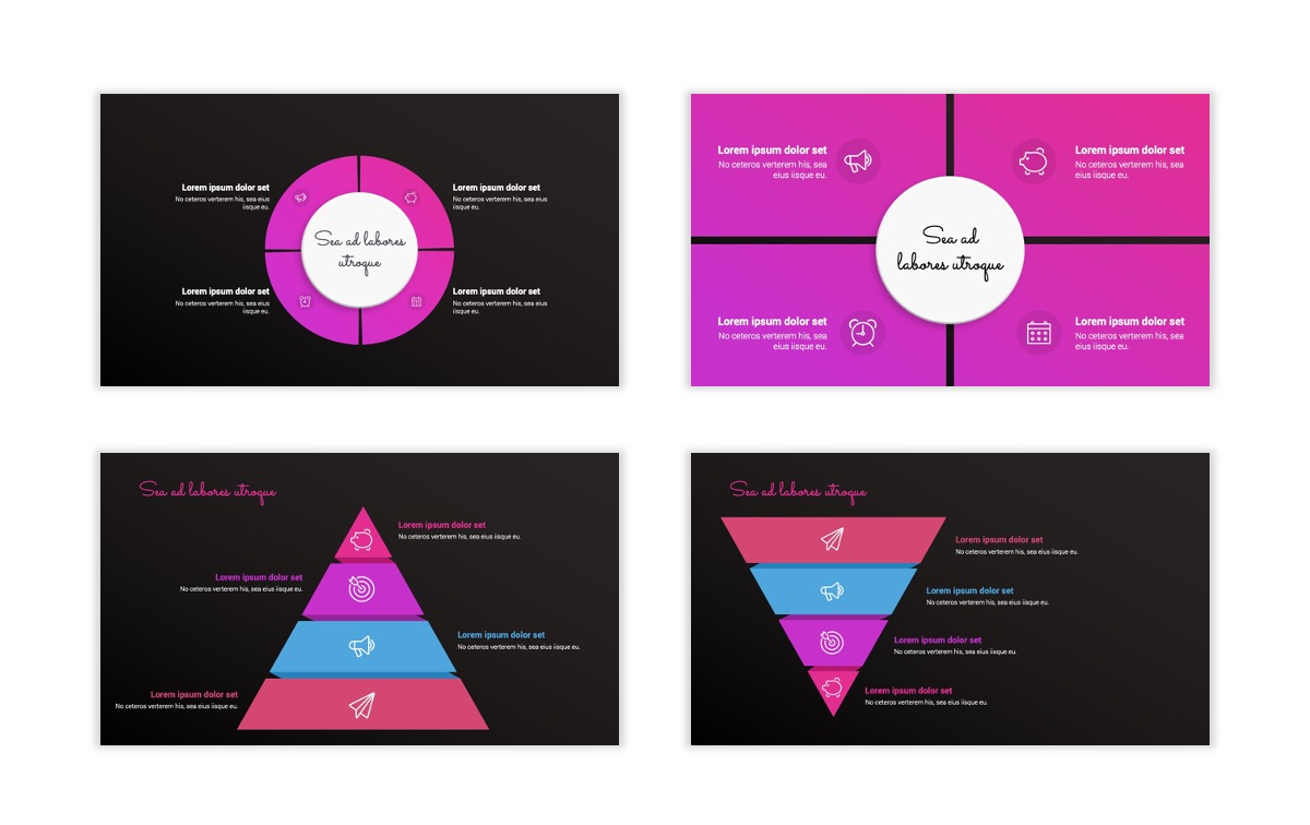 Pink and Black Sydney PPT Template23