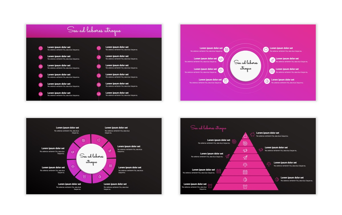 Pink and Black Sydney PPT Template27
