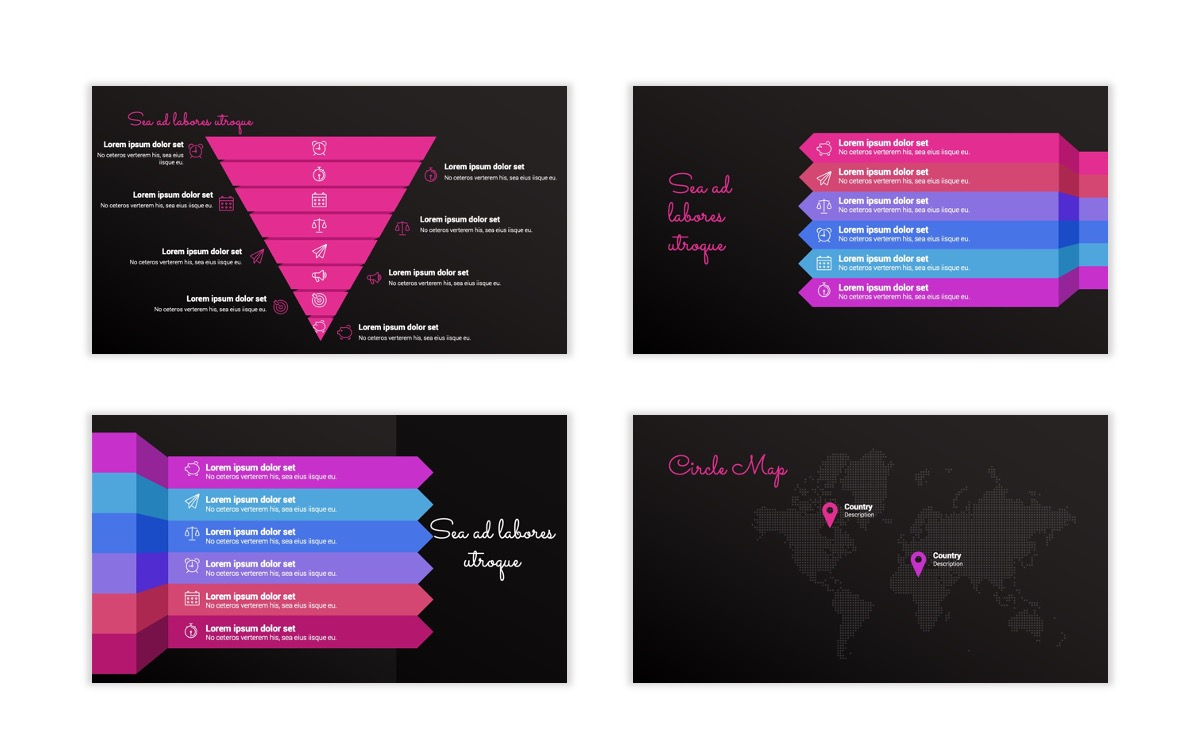 Pink and Black Sydney PPT Template28