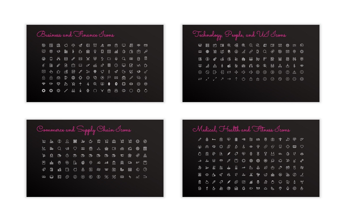 Pink and Black Sydney PPT Template32