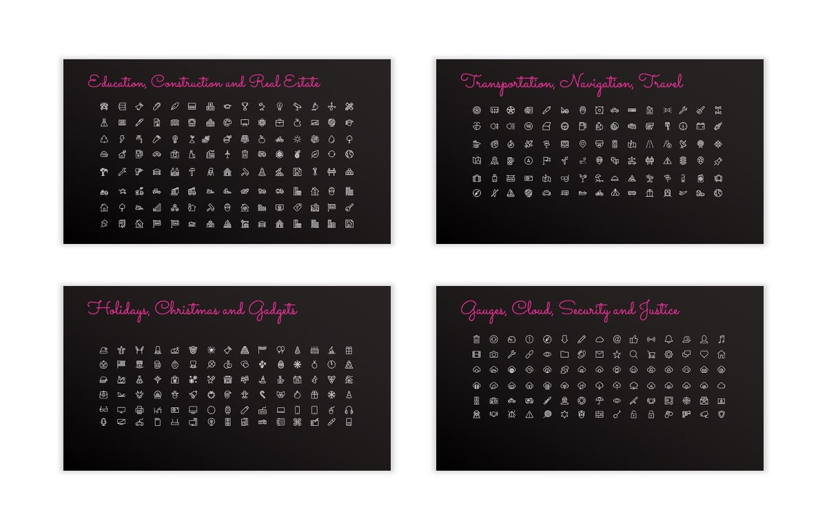 Pink and Black Sydney PPT Template33