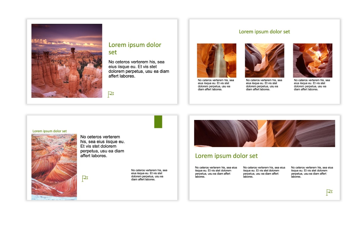ROME - Canyon - Green - Aesthetic - Clean - Minimal Slide 3