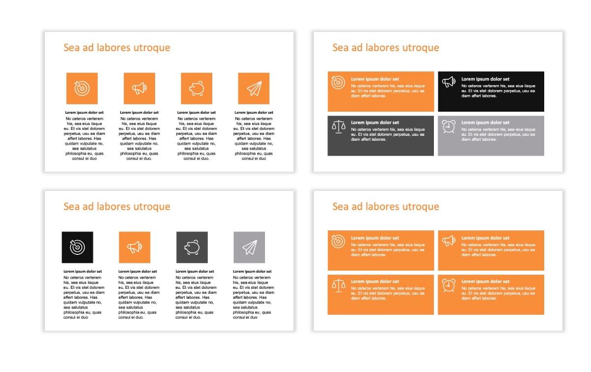 ROME - Canyon - Orange - Aesthetic - Clean - Minimal Slide 11