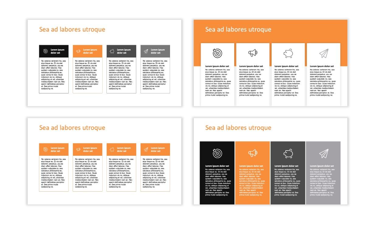 ROME - Canyon - Orange - Aesthetic - Clean - Minimal Slide 12
