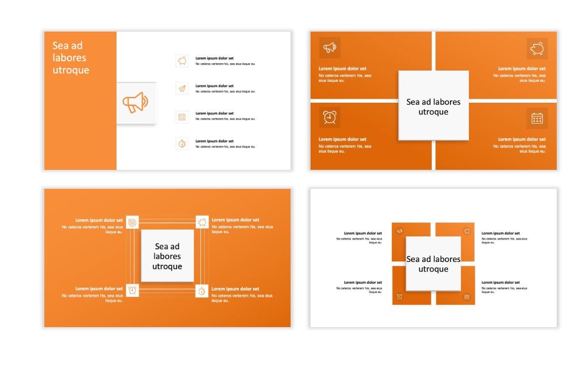 ROME - Canyon - Orange - Aesthetic - Clean - Minimal Slide 15