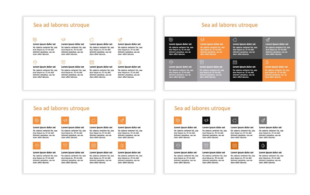 ROME - Canyon - Orange - Aesthetic - Clean - Minimal Slide 17