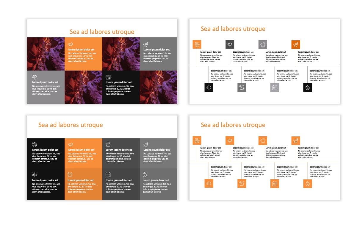 ROME - Canyon - Orange - Aesthetic - Clean - Minimal Slide 18