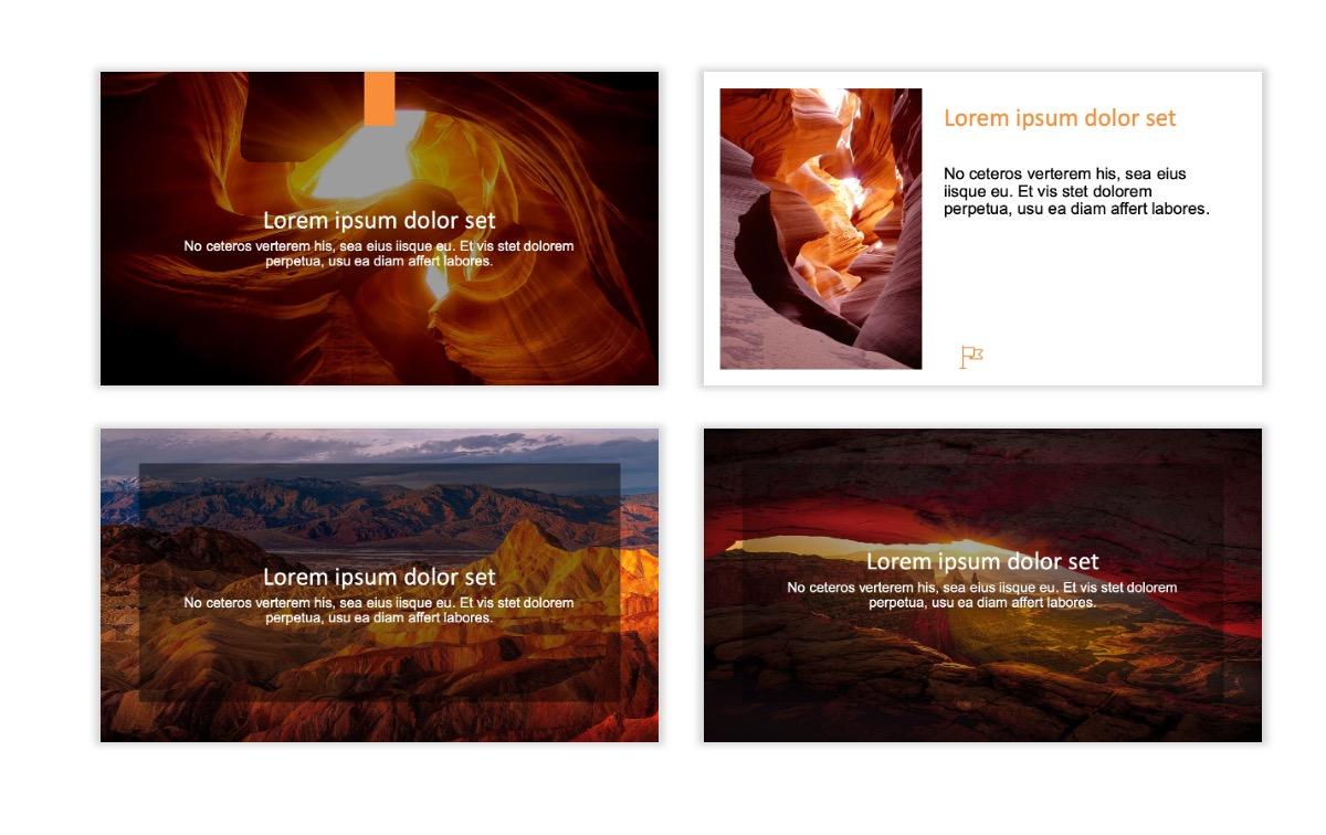 ROME - Canyon - Orange - Aesthetic - Clean - Minimal Slide 2