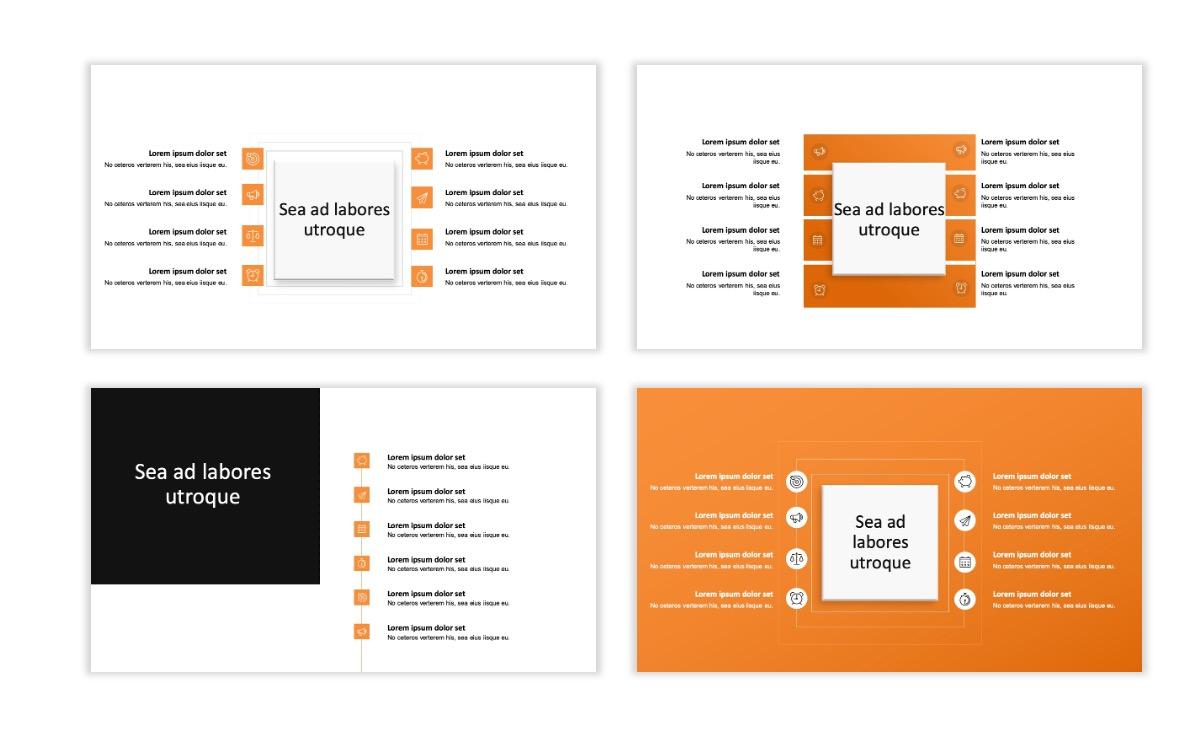 ROME - Canyon - Orange - Aesthetic - Clean - Minimal Slide 20