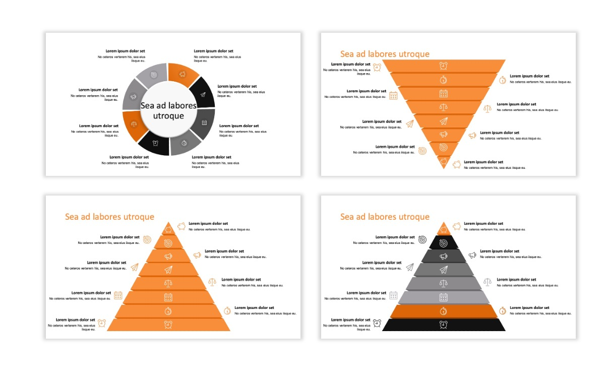ROME - Canyon - Orange - Aesthetic - Clean - Minimal Slide 21