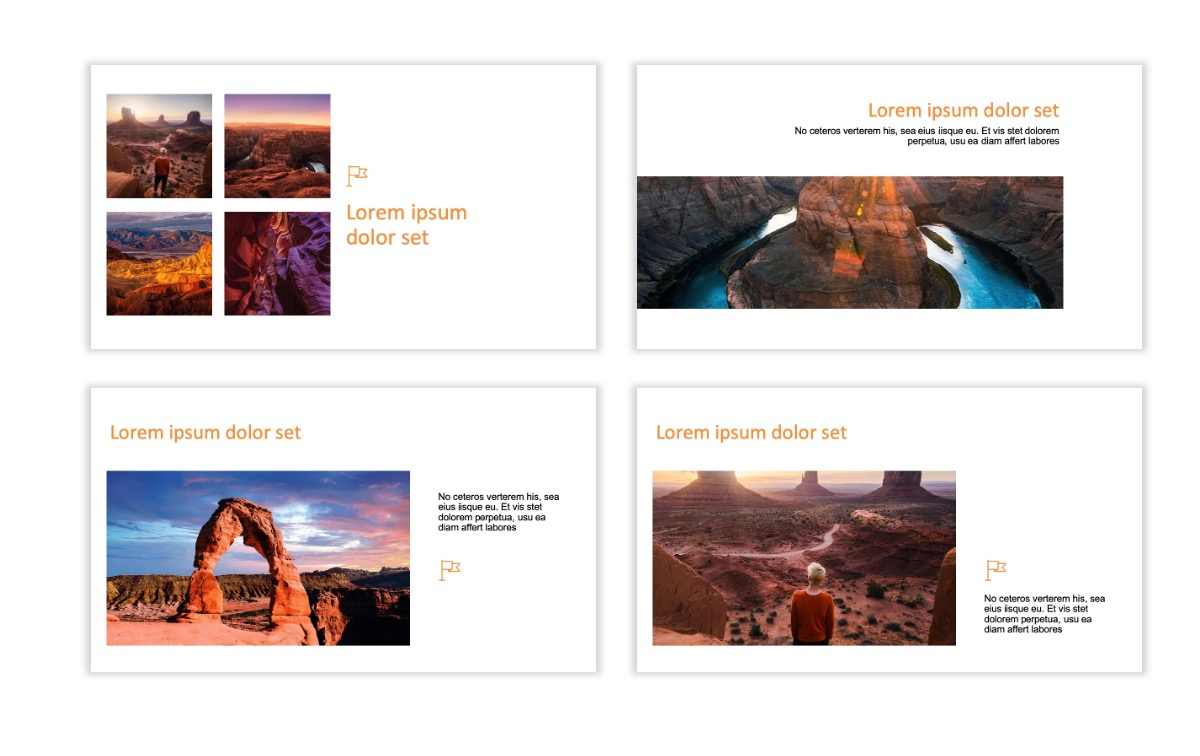 ROME - Canyon - Orange - Aesthetic - Clean - Minimal Slide 6