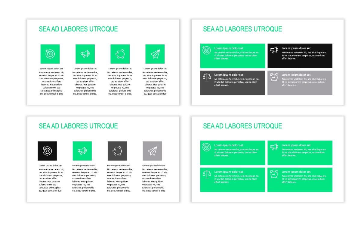 ROME - Fitness - Green - Aesthetic - Clean - Minimal Slide 11