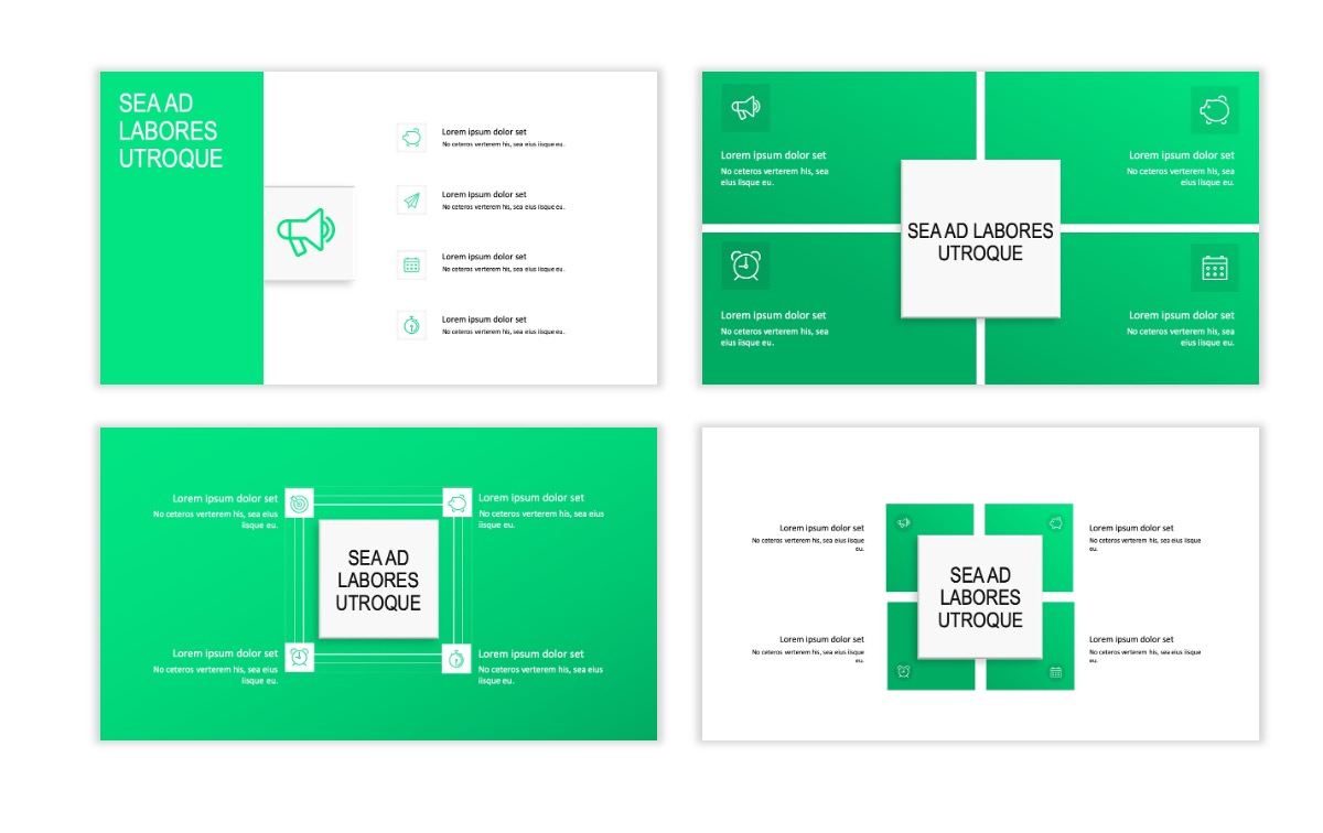 ROME - Fitness - Green - Aesthetic - Clean - Minimal Slide 15