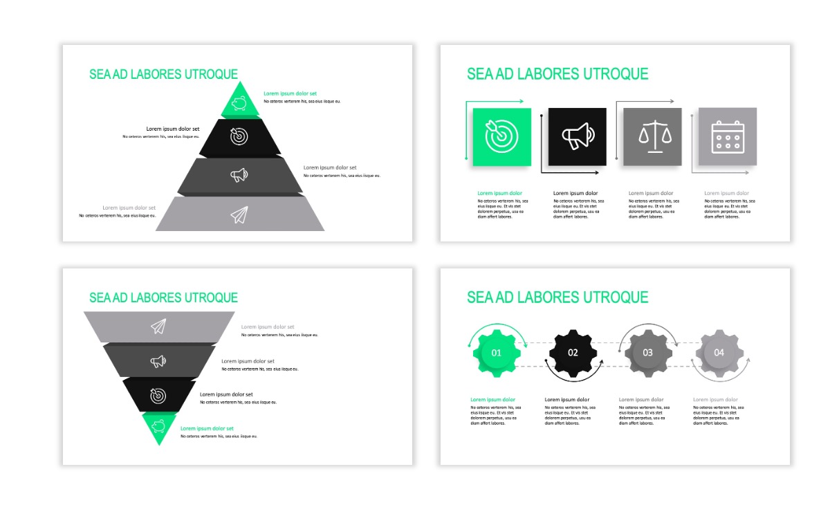 ROME - Fitness - Green - Aesthetic - Clean - Minimal Slide 16