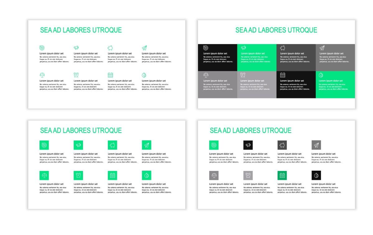 ROME - Fitness - Green - Aesthetic - Clean - Minimal Slide 17