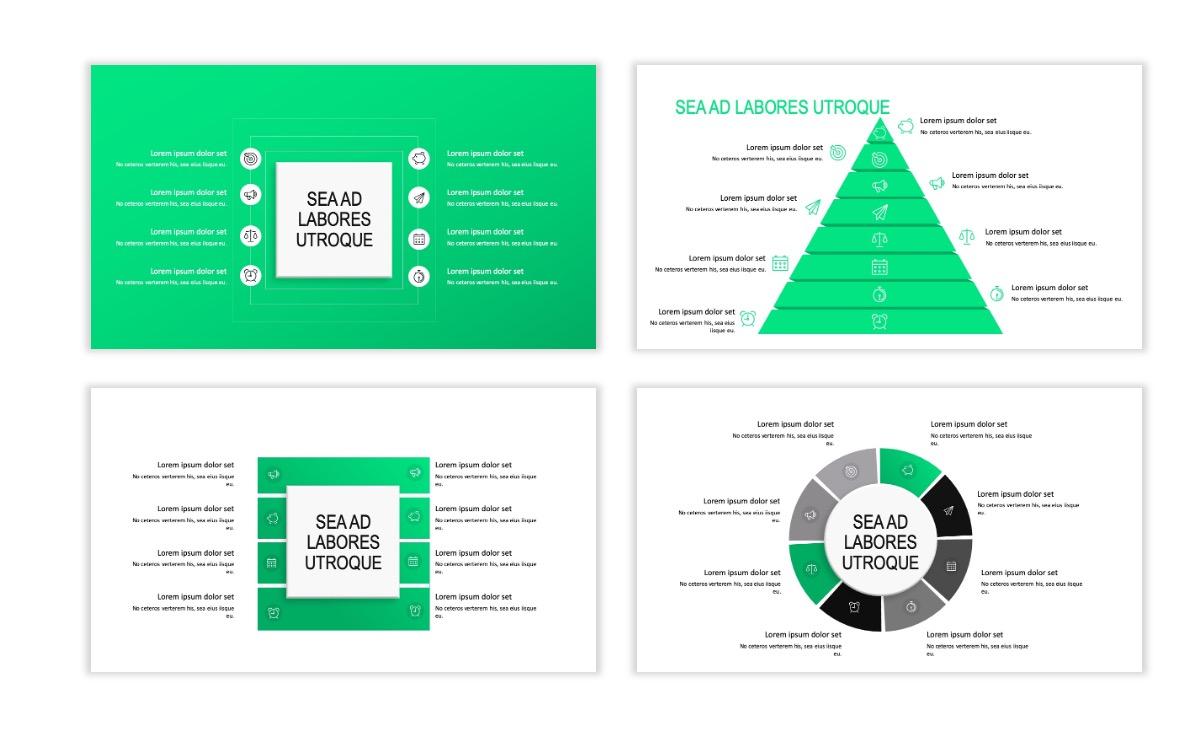 ROME - Fitness - Green - Aesthetic - Clean - Minimal Slide 20