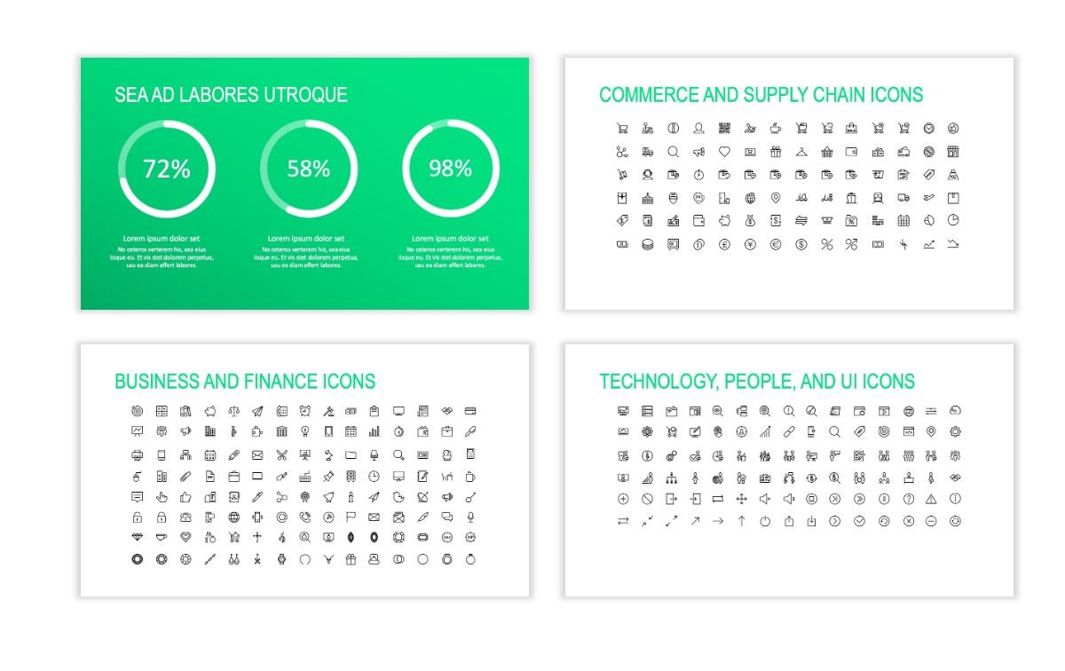 ROME - Fitness - Green - Aesthetic - Clean - Minimal Slide 25