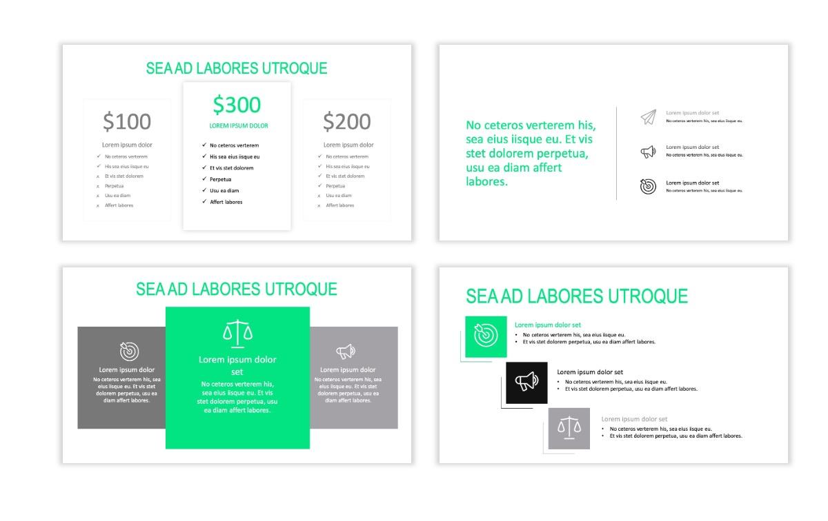 ROME - Fitness - Green - Aesthetic - Clean - Minimal Slide 8