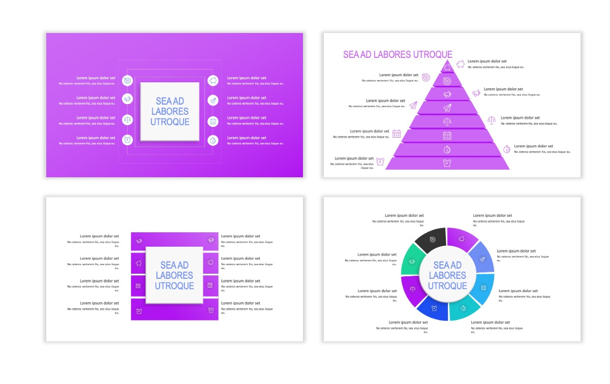 ROME - Fitness - Purple - Aesthetic - Clean - Minimal Slide 20