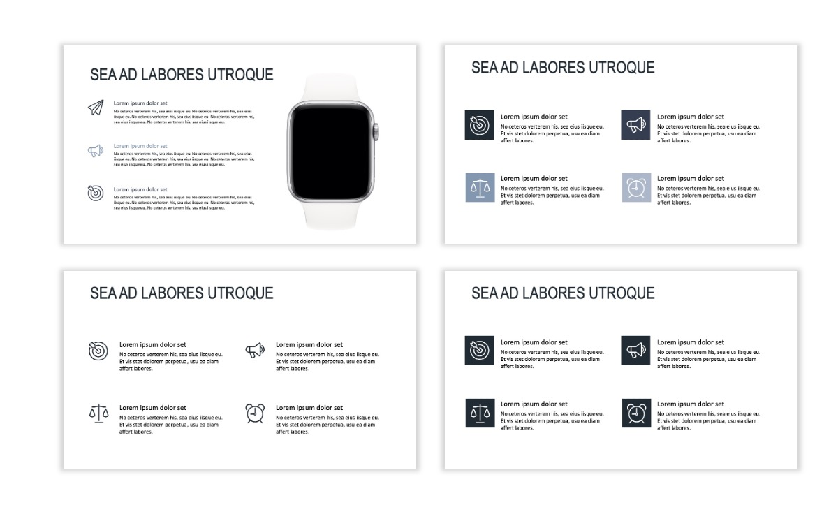 ROME - Gray - Business - Professional - Aesthetic - Clean - Minimal Slide 10